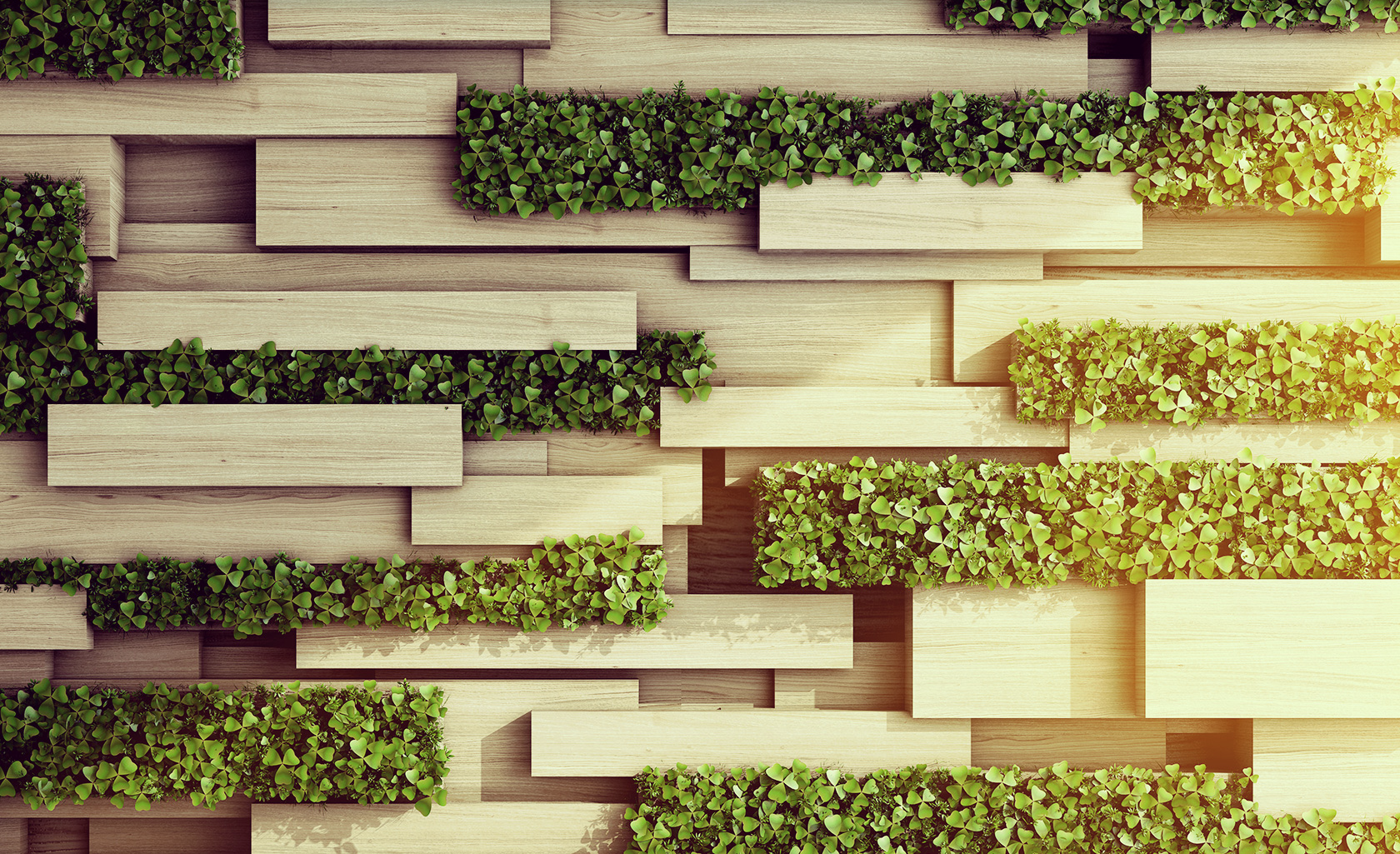 Business sustainability benefits the community for Green wall advantages