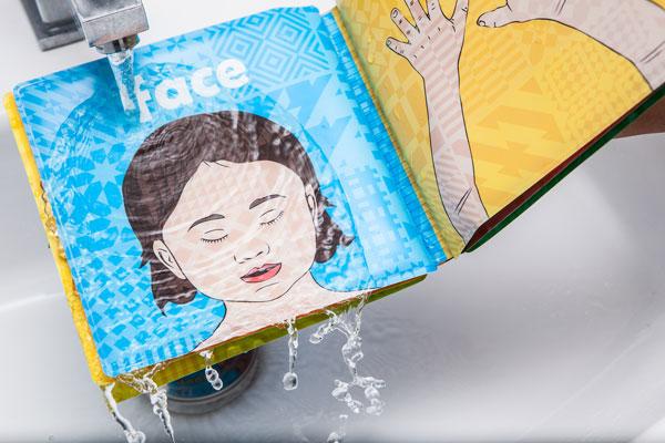 Children's Colour Changing Bath Book — UpEffect | Social