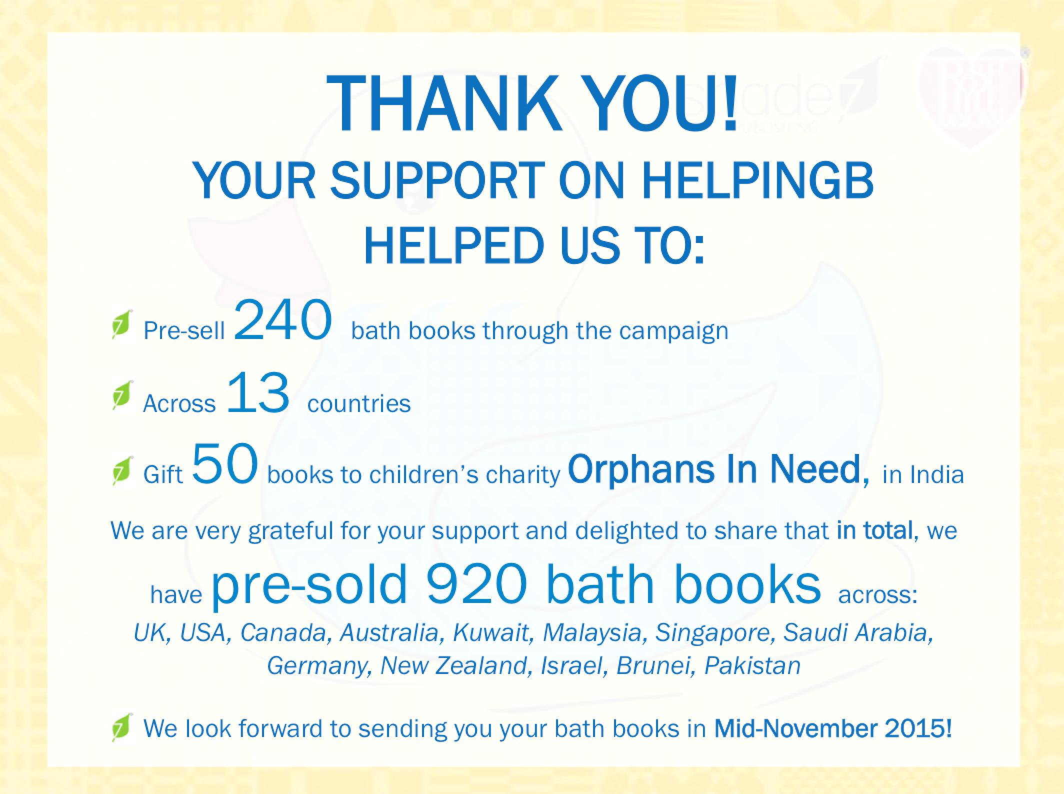 Children\'s Colour Changing Bath Book — UpEffect | Social Enterprise ...